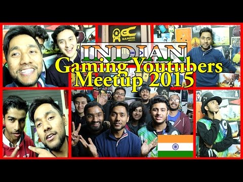 First Ever INDIAN Gaming Youtubers Meetup 2015    Carryminati GGM Hemant_t