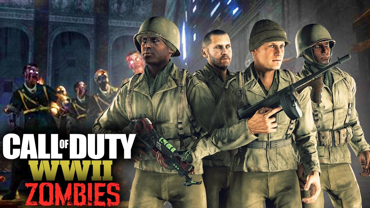 Call Of Duty Ww2 Zombies Characters And Storyline Youtube