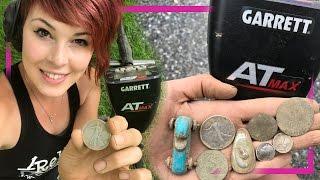 NEW Garrett AT Max - Metal Detecting - BIG Silver, Copper Coins, Relics