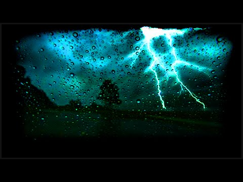 Sound of Heavy Rain & Thunder Storm in England for 1 Hour: Ambient Natural Sleep Sounds