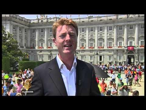 New Spanish King sworn in