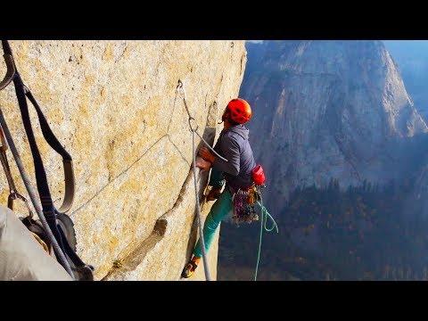 A TRUE YOSEMITE ASS KICKING        Big Wall Free Climbing in Yosemite