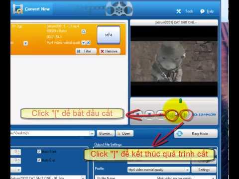 Hướng dẫn sử dụng phần mềm Total video converter, đổi đuôi video