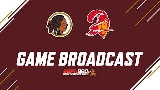 Redskins Radio Booth LIVE vs Bucs