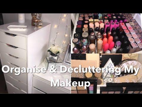 Organising NEW MAKEUP! New Makeup Storage & Declutter