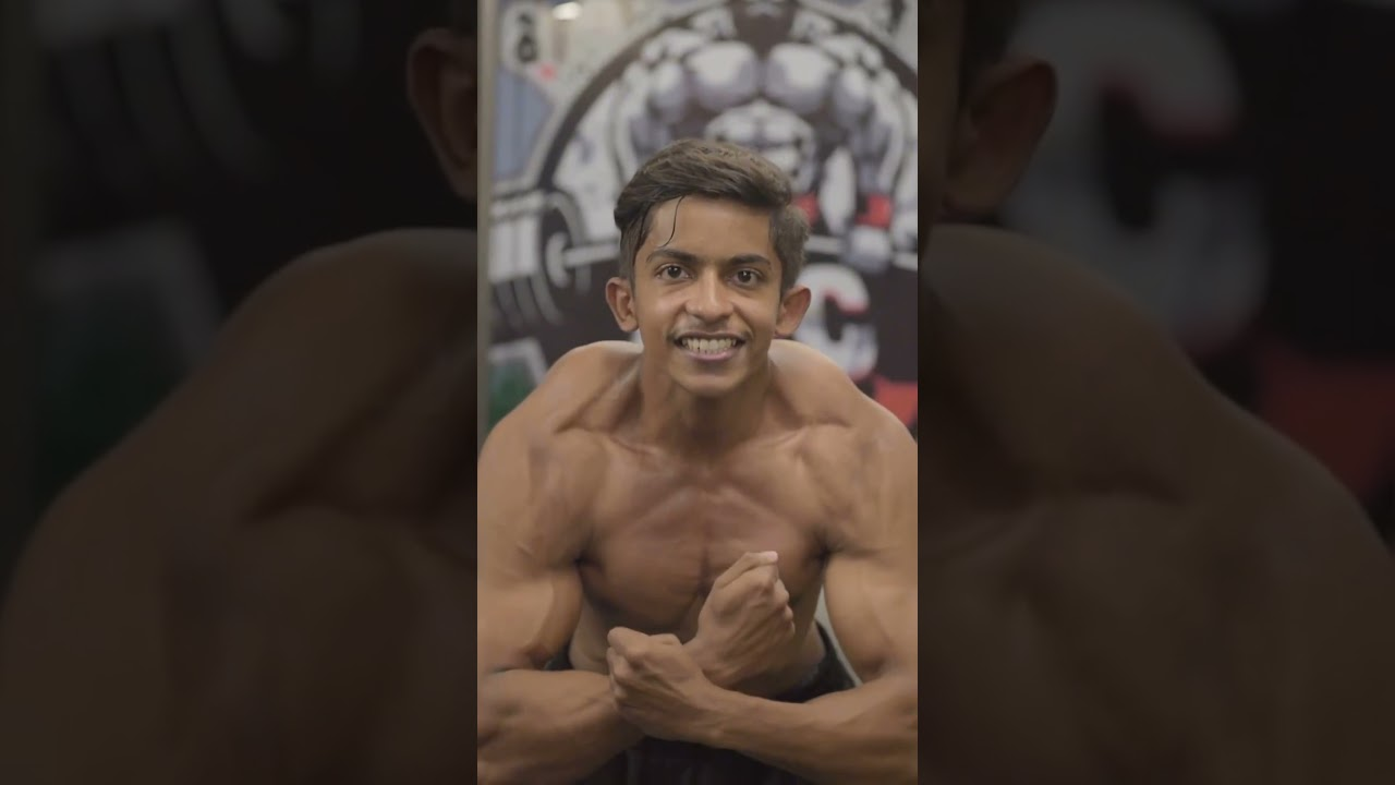 Indian Young Bodybuilder 🔥 Gym status video 💪Gym motivation video 😍 Gym lovers video❤️ #129