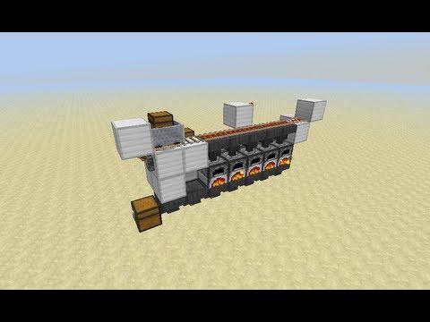 Minecraft Redstone Tutorial - 2 Wide Semi-Automatic ...