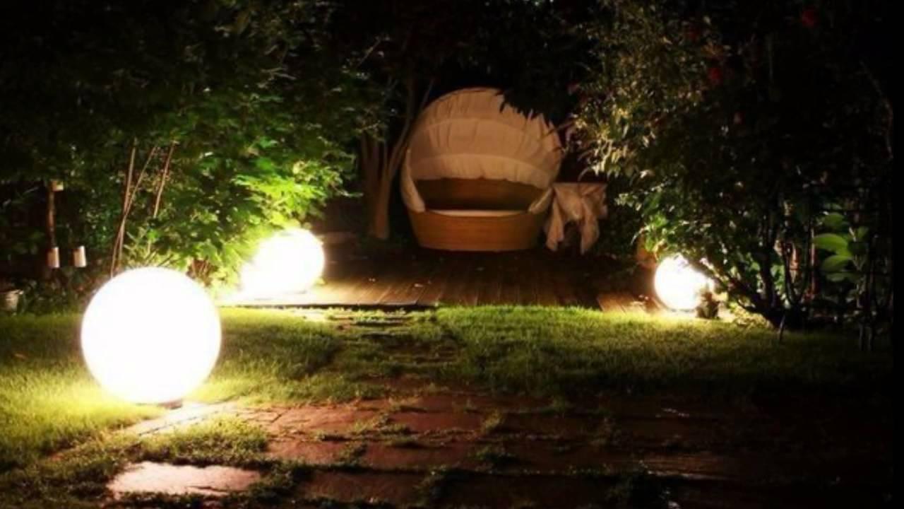 Beleuchtung im garten licht im garten gartenbeleuchtung - Iluminacion de jardin exterior ...