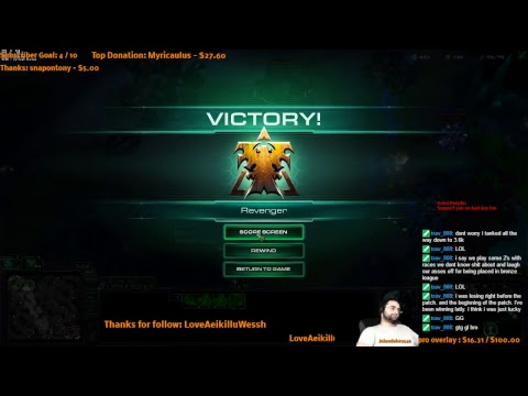 Starcraft 2 - terran - ladder d1 eu - cool chat  chill strea