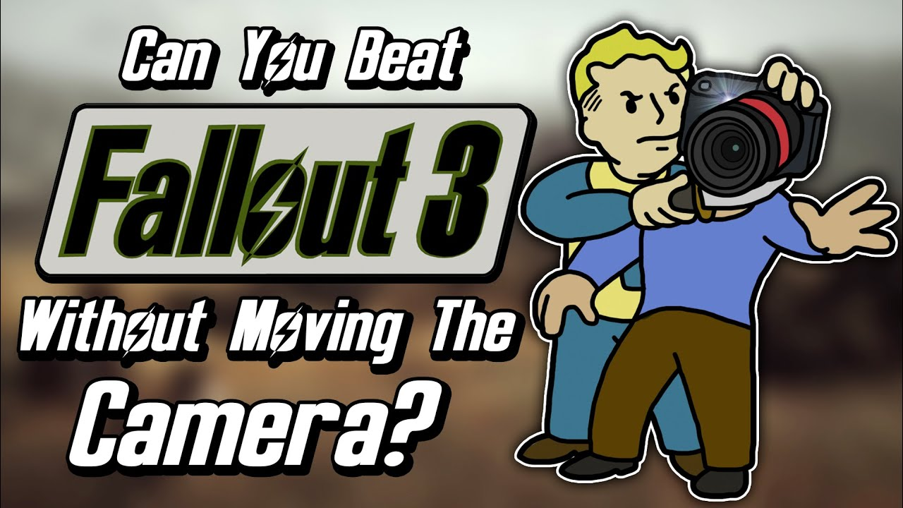 Can You Beat Fallout 3 Without Moving The Camera? thumbnail