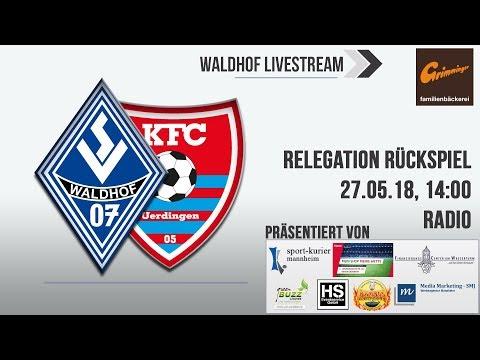Relegation Rückspiel: SV Waldhof - KFC Uerdingen (Live ...