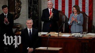 NATO head Jens Stoltenberg addresses Congress