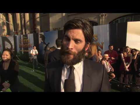 Wes Bentley Interview PETE'S DRAGON World Premiere (2016)