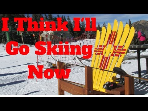 Skiing With Jesse - Taos New Mexico