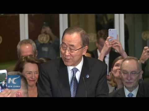 "Ban Ki-moon: ""Millions of people will be watching as I lose my job"""