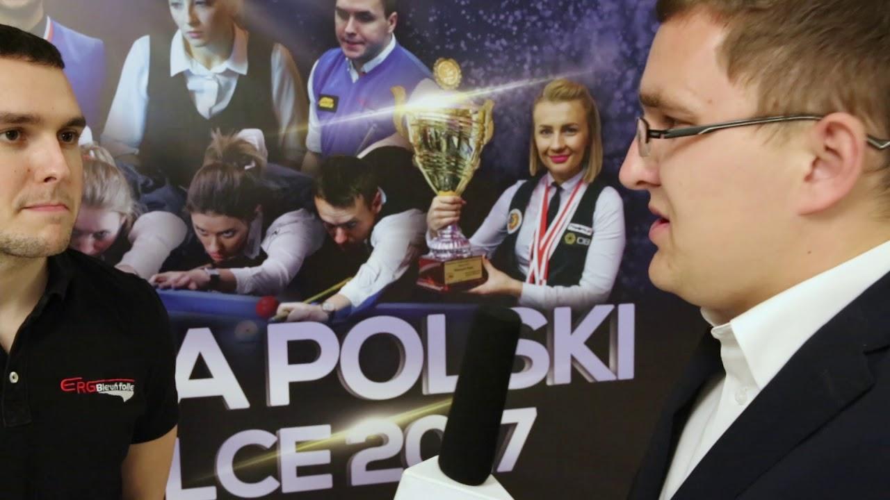 Mistrzostwa Polski w Bilard – Kielce 2017 – Mieszko Fortuński mistrzem 9 bil