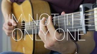 Sam Smith - I'm Not The Only One - Fingerstyle Guitar Cover by James Bartholomew