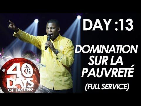 Pasteur Gregory Toussaint | 40-DAY FAST - DAY 13 I Prières contre l'esprit de Pauvreté