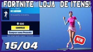 Loja Fortnite - Loja De Hoje 15/04/2019 Nova dança