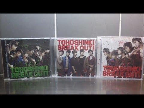 tohoshinki breakout album