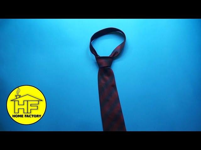 Brzo i jednostavno vezanje kravate! - NEVJEROVATNO!!!