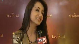Trisha Launches Magnum Ice Cream