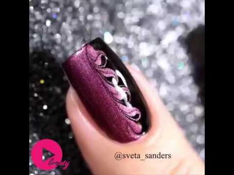 Latest nail polish designs... - YouTube