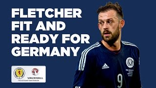 EXCLUSIVE | Steven Fletcher fit and ready for Germany