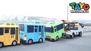 Tayo Dalam Kehidupan Nyata l #7 Toto, truk derek yang menakutkan l Tayo Pesta Sahabat