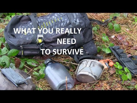 SURVIVAL - THE TRUE SURVIVALKIT (what You REALLY Need To Stay Alive)