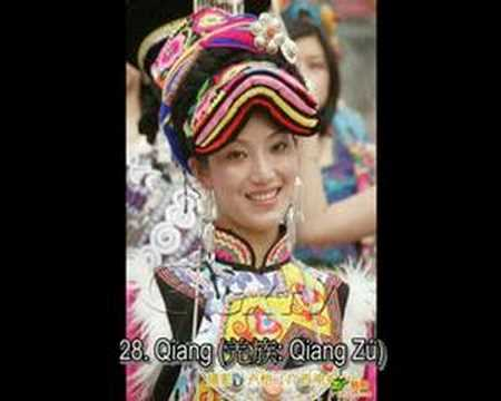 56 Ethnicities of China!