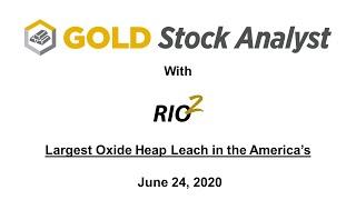 Rio2 Fenix Project. The largest undeveloped gold oxide heap leach project.
