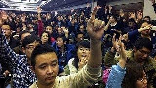 Çinli yolcu yakınları Malezya hükümetine öfkeli