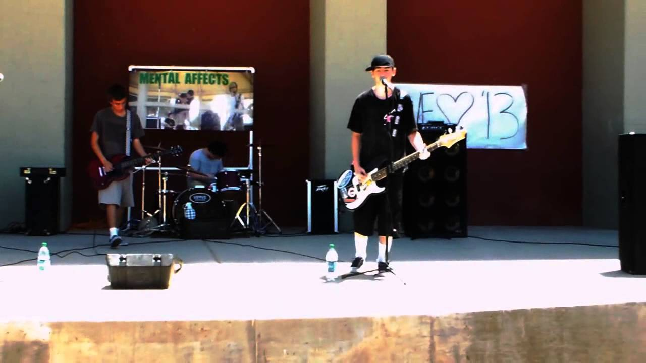 Mental Affects Performing Live At Poston Butte High School Youtube