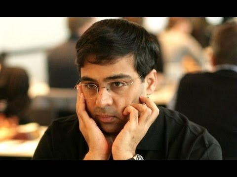 Anand spent 1:43 mins on 4th move in world...