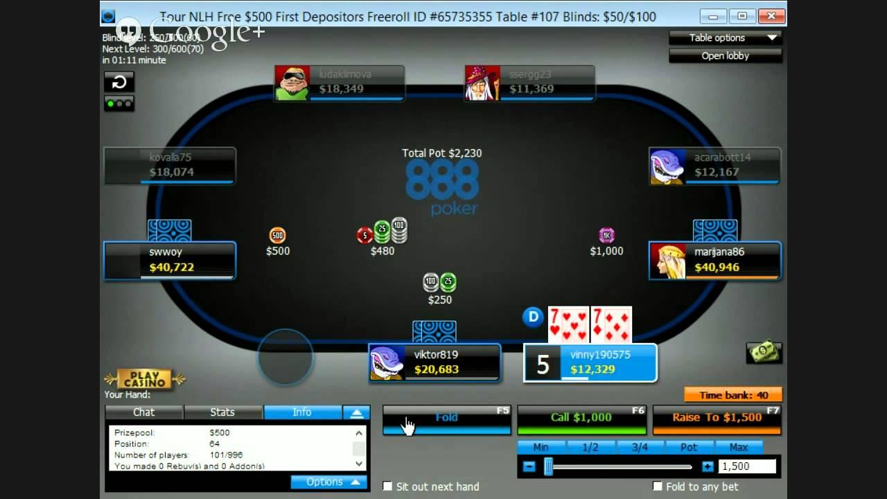 Www.888poker.Com Sign In