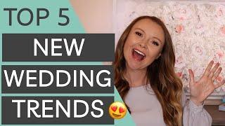 Top Wedding Trends for 2020 & 2021 Weddings | New Classic Wedding Trends