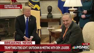 Rep. Pelosi and Sen. Chuck Schumer take Donald Trump to task
