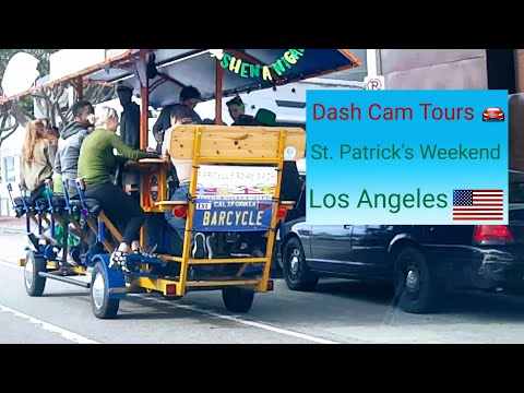 Dash Cam Tours - St. Patrick's Day & Los Angeles Marathon