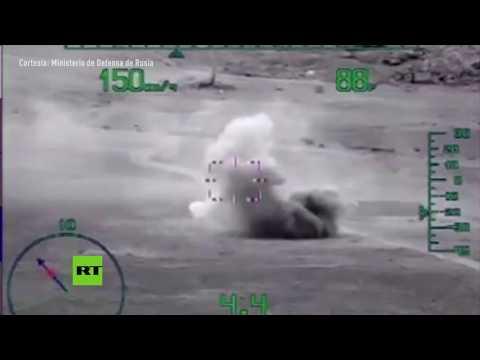 Fuerzas rusas destruyen objetivos del Frente Al-Nusra en Hama