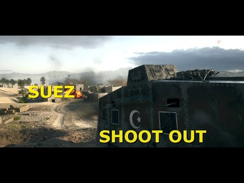 Battlefield 1 - Suez map shootout