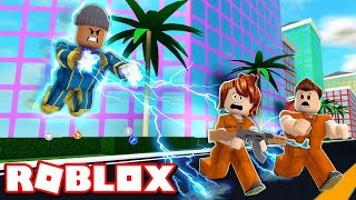 Becoming a SUPERHERO in ROBLOX MAD CITY!!! (Roblox Roleplay)