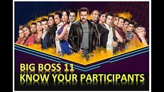 Bigg Boss Season 11 Contestants | Bigg Boss Season 11 Contestant Profiles | Top Ideas