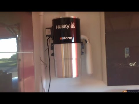 How to Install Husky Storm Central Vacuum - and review