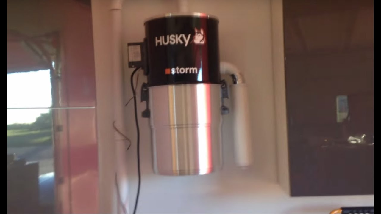 Aspirateur Husky How To Install Husky Storm Central Vacuum And Review
