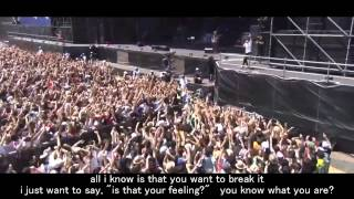 Never Let This Go - One Ok Rock Live [EngSub]