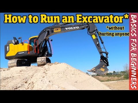 How to run an Excavator for Beginners  What you Need to know to get started  Pt  1/2