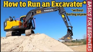 How to run an Excavator for Beginners.  What you Need to know to get started Pt. 1/2