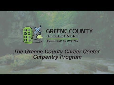 The Greene County Career Center Carpentry Program