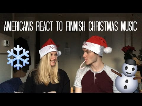 AMERICANS REACT TO FINNISH CHRISTMAS MUSIC